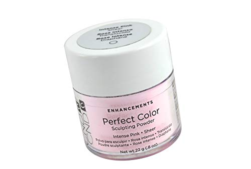 NEW Perfect Color Sculpting Powder INTENSE PINK - SHEER Create natural looking enhancements: 22g