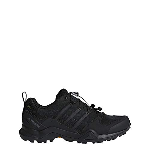 adidas Outdoor Terrex Swift R2 GTX Mens Hiking Boots, (Black on Black), Size 11