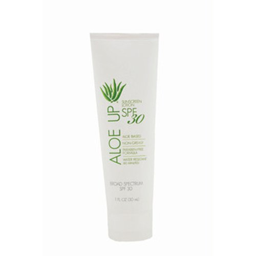 Aloe Up Sun & Skin Care Products White Collection SPF 30 Sunscreen Lotion