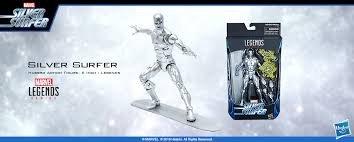 シルバーサーファー 「ファンタスティック・フォー」 ハズブロアクションフィギュア 6インチ レジェンドの商品画像