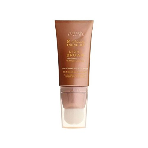 Alterna 2 Minute Root Touch - Light Brown (Pack of 6) by Alterna