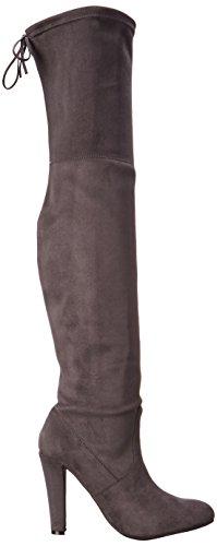 Steve Madden Frauen wunderschöne Stiefel Grau