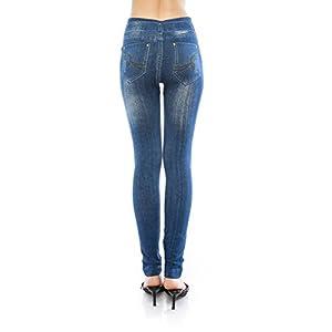 VIRGIN ONLY Women's Denim Jeans Printed