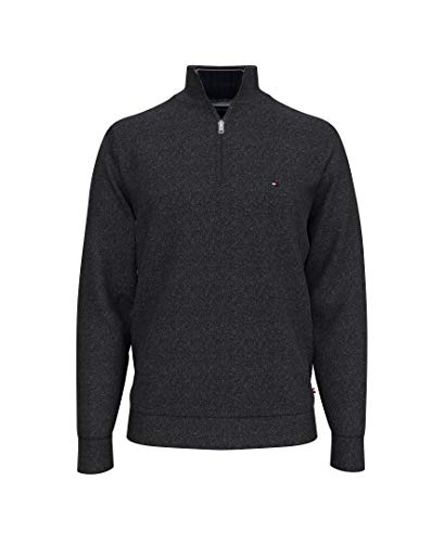 Tommy Hilfiger Men's 1/4 Zip Mockneck Sweatshirt
