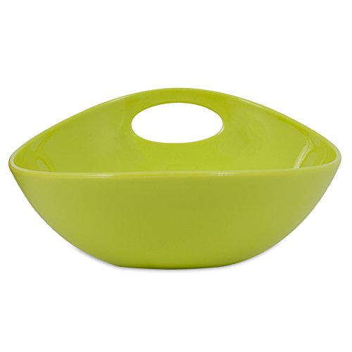 Wetnoz 23562 3-Cup Studio Scoop Dog Dish, Medium, Pear -