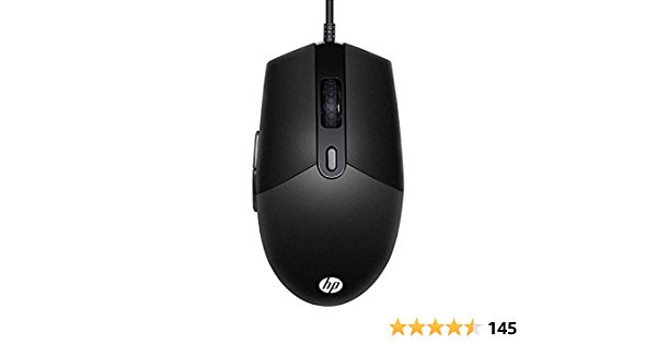 MOUSE GAMER HP LED MULTICORES, PRETO USB, 6400 DPI - M260