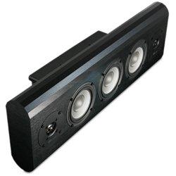 w150 onwall inwall center channel speaker black oak