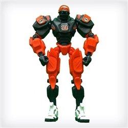 """Cincinnati Bengals 10"""" Team Cleatus FOX Robot Action Figure Version 2.0"""