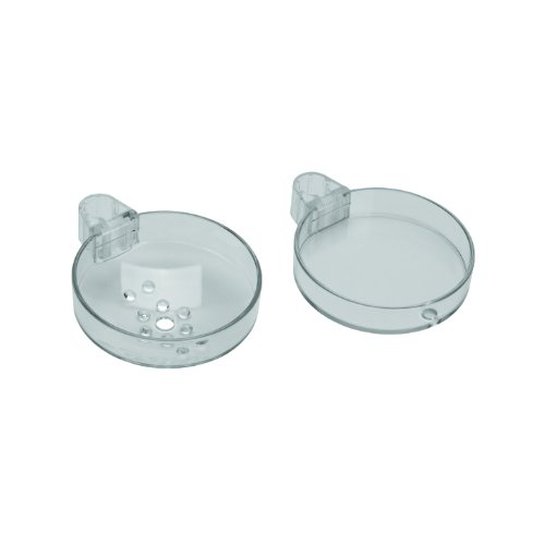 Hansgrohe 28675000 Cassetta S Double Soap Dish, Chrome - Soap Double Chrome