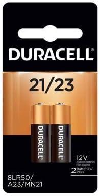 Duracell Mn21B2Pk05 Batt Alarm 12V 2Cd