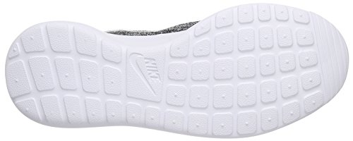 One Cool de Flyknit Noir White Grey Chaussures Femme Roshe Course NIKE Black 5Iwqnf5v