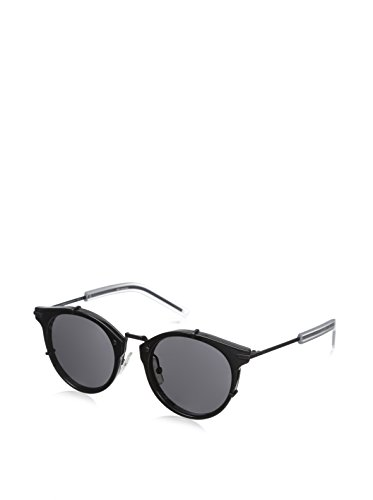 [Dior Homme 0196S GVB Black 0196S Round Sunglasses Lens Category 3 Size 48mm] (Christian Dior Homme Sunglasses)