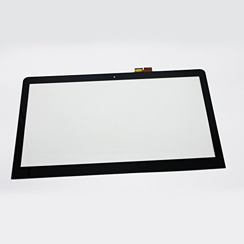 LCDOLED 15.6 inch Laptop Touch Screen Glass Digitizer panel for Sony Vaio SVF15A1ACXS SVF15A18SCB SVF15A1M2ES SVF15A1CCXB SVF15A18SCP SVF15A18CXB SVF15A16CXB SVF15A190X by LCDOLED