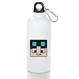 OKGOO The Diamond Minecart DAN TDM Aluminum Sports Water Bottle