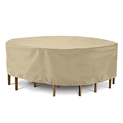 SunPatio Round Table and Chair Cover