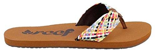 Free Reef Women's Mallory Scrunch Flip Flop,Multi,10 M US