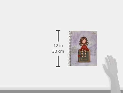 /QUADERNO con 120/fogli colore: Rosso gorjuss 20841049920/ formato A4