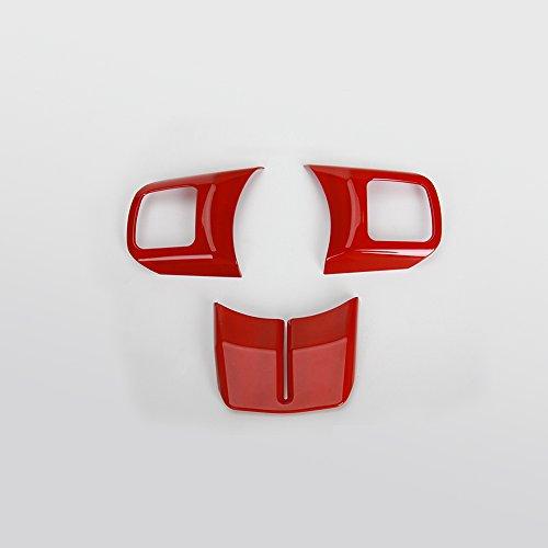 Yingdelai Jeep Wrangler 4 Door 2011 2015 Abs Interior Trim Kits Steering Wheel Trim Centrer