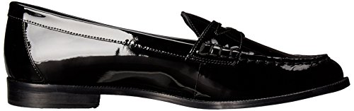 Lauren Ralph Lauren de la mujer Barrett Penny Loafer Black Patent Leather