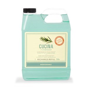 Purifying Hand Wash Refill - Cucina Hand Soap Refill Rosemary and Cardamom 33.8 Fl. Oz.