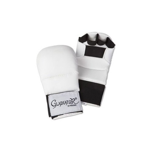 PROFORCE Gladiator Karate Sparring Gloves – White – Small