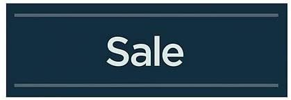 5-Pack Sale 36x12 CGSignLab Basic Navy Window Cling