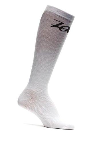 Zoot Men's Compressrx Endurance Active Sock, White, 5