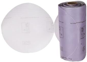 """3M Stikit Film Disc Roll 360L, PSA Attachment, Aluminum Oxide, 6"""" Diameter, P1000 Grit (Pack of 1)"""