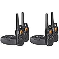 Uniden GMR2638-2CK GMRS, FRS Lightweight, Rugged Palm-Sized Two-way Radios (4-Pack)