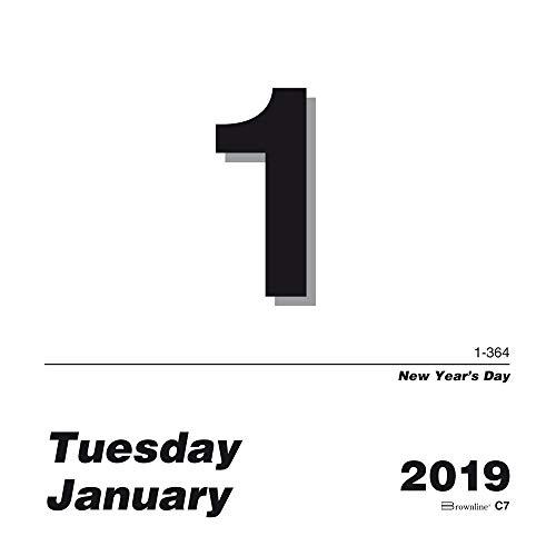 Brownline Daily Calendar Refill - Brownline 2019 Daily