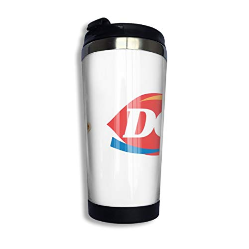 WIWIS Dairy Queen Celebrate First Day of Spring 14oz Stainless Steel Tea Cup (Best Dairy Queen Blizzard Flavors)