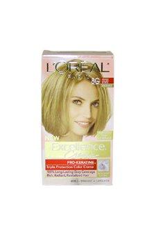 - L'Oreal Paris Excellence Creme Triple Protection Color 8G Medium Golden Blonde/Warmer