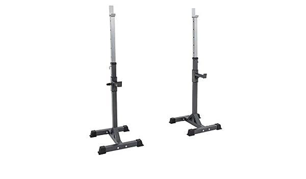 PowerMark - 310 Squat Rack: Amazon.es: Deportes y aire libre