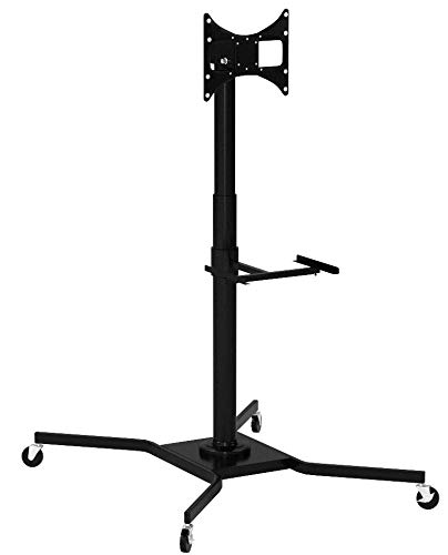 Elitech Mobile LED LCD TV Cart Stand for up to 46' TV, TV...