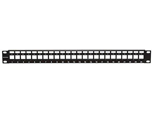 Monoprice Keystone Jack Panel, 24 ()