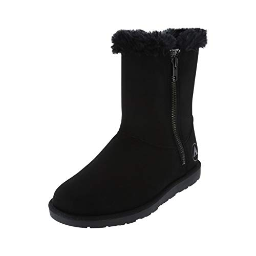 Airwalk Black Women's Prim Cozy Boot 12 Regular (Airwalk Boots)