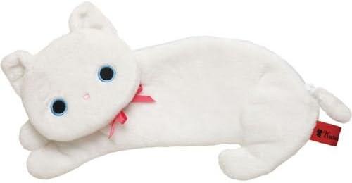 Estuche blanco peluche gato Kutusita Nyanko de San-X: Amazon.es: Bricolaje y herramientas