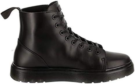 talib brando lace leather boot