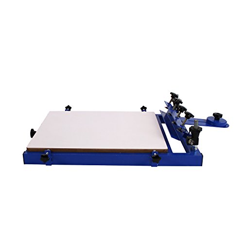 1 Color Station Screen Printing Bench Top Press Machine Print Silk NS102 by Commercial Bargains