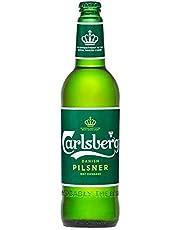 CARLSBERG Danish Pilsner Beer Quart 1s, 644 ml