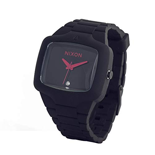 Nixon Rubber Player in All Grey/Red (Black Nixon Player)