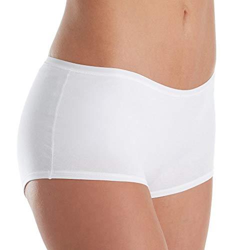 - Calida Comfort Boycut Brief Panty (25127) S/White