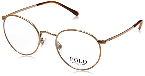 Polo Men's PH1179 Eyeglasses Dark Rose Gold 48mm
