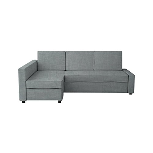 TLYESD Snug Fit Cover for IKEA Friheten with Chaise Corner Sofa Bed,Polyester Fabric Sleeper Slipcover