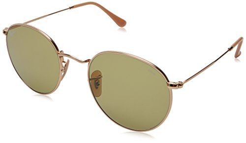 Ray-Ban Men's Metal Round Sunglasses, Gold, 53 - Camouflage Ray Ban
