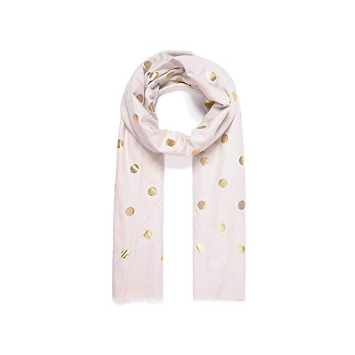 (Unbranded Womens/Ladies Scattered Metallic Polka Dot Print Scarf (One Size))