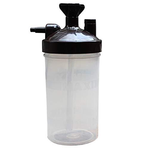 SODIAL Water Bottle Humidifier for Oxygen Concentrator Humidifier Oxygen Concentrator Bottle Humidifier Bottles Cup Oxygen Generator Accessories