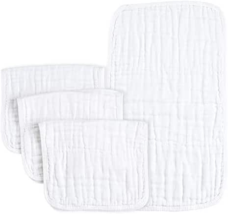 PPOGOO Burp Cloths Extra Absorbent and Soft Large 21