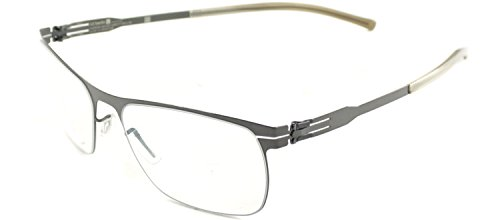 ic! Berlin Julius Freitag Gunmetal Metal Eyeglasses for sale  Delivered anywhere in USA