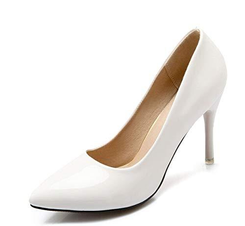blanc HommesGLTX Talon Aiguille Talons Hauts Sandales Femmes Chaussures Chaussures à Talons Hauts pour Femmes Ultra Ultra Talons Plate-Forme Party Dance Chaussures Femme D-17